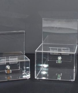 Donation and Token Boxes